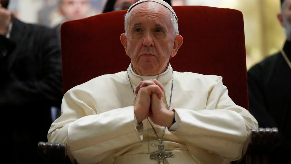 Papst Franziskus im georgischen Mtskheta