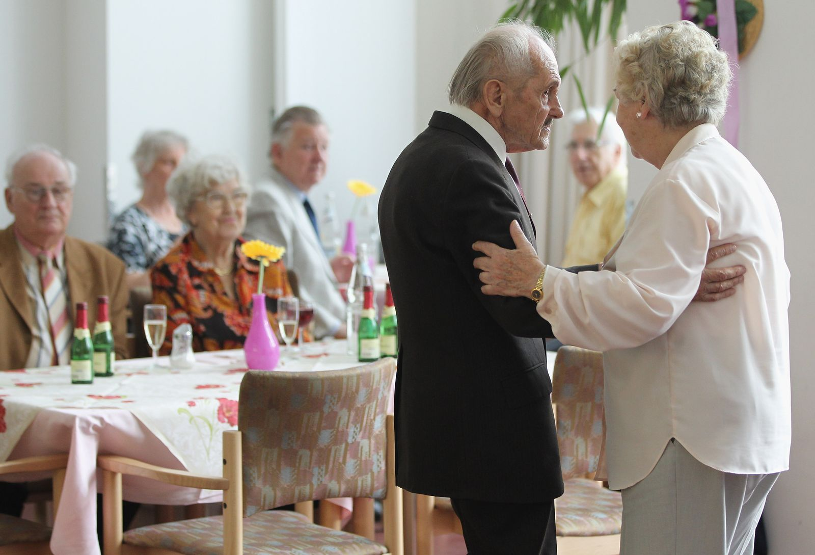 Tanzstunde Seniorenheim