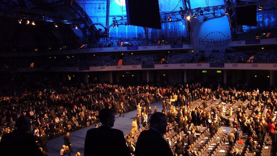 DVAG-Vertriebskonferenz 2008 in der Festhalle in Frankfurt am Main