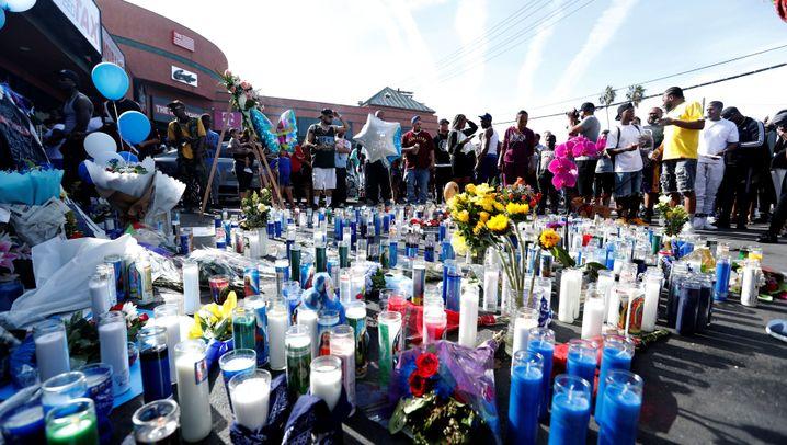 Nipsey Hussle: Mahnwache endet in Massenpanik