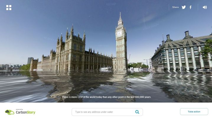 WorldUnderWater: Touristenattraktionen unter Wasser gesetzt