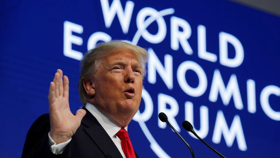 US-Präsident Trump in Davos