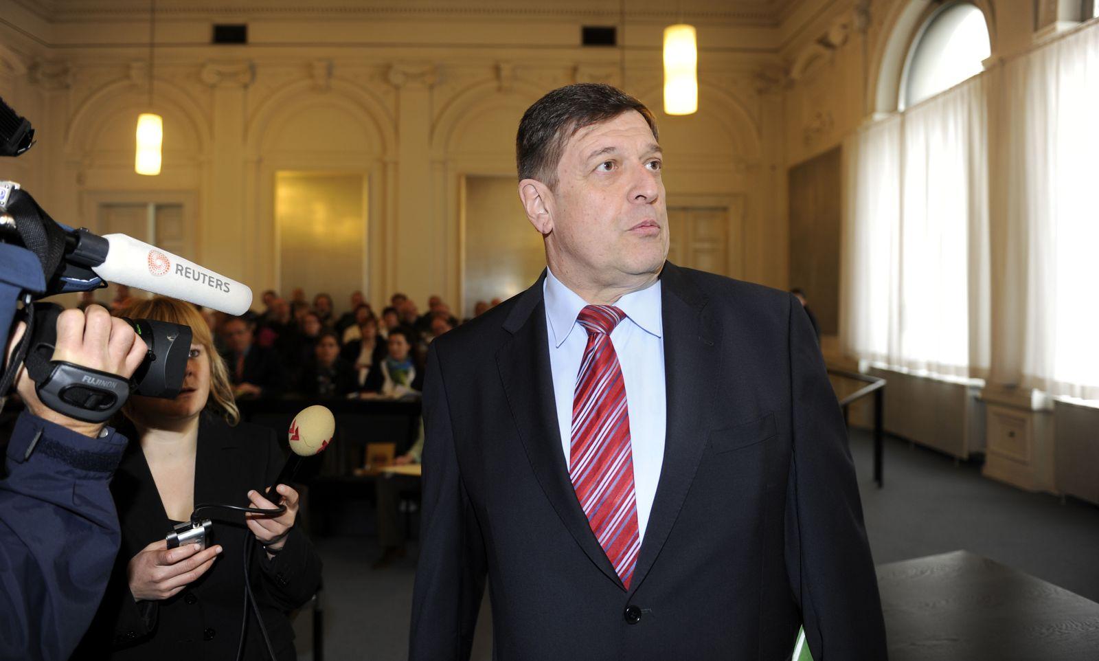 Prozessauftakt Jörg Tauss