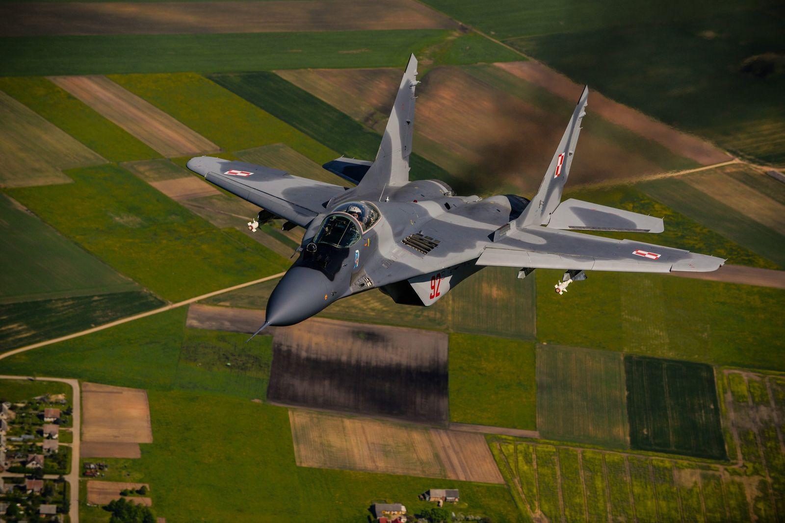 Nato Jets über Baltikum