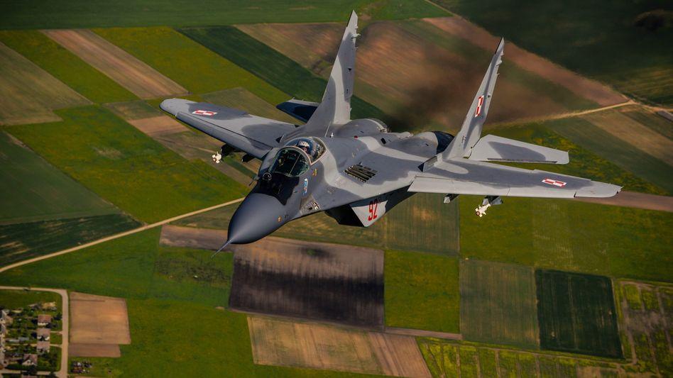Polnischer Nato-Jet über Litauen: Wer die Balten nicht schützt, gibt sich selbst auf