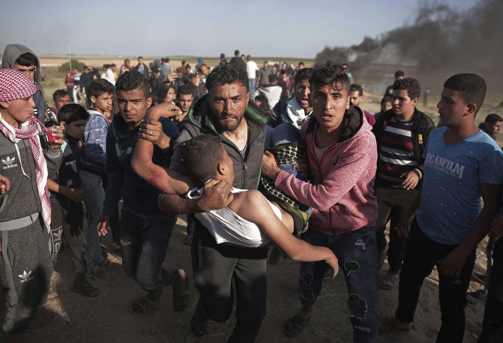 Erneute Proteste im Gazastreifen