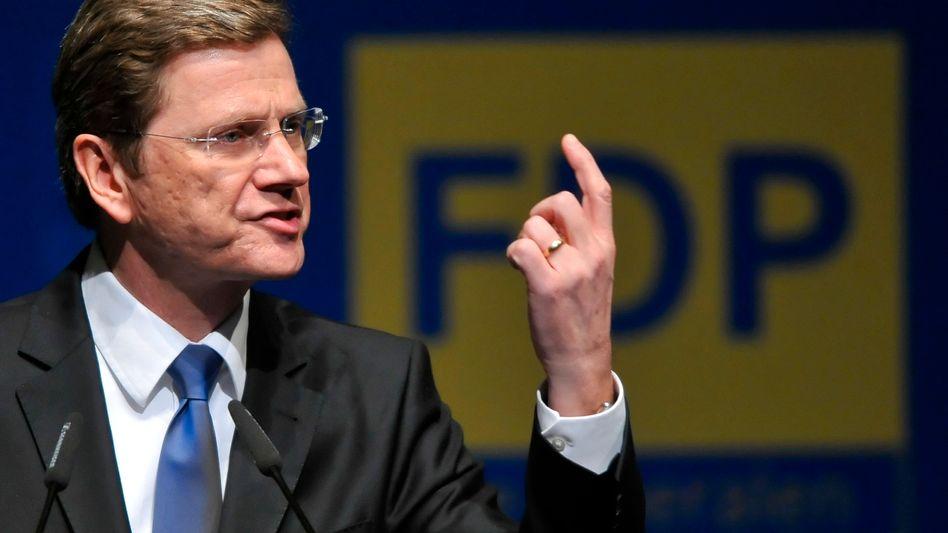 NRW-Parteitag: Westerwelle startet den Gegenangriff