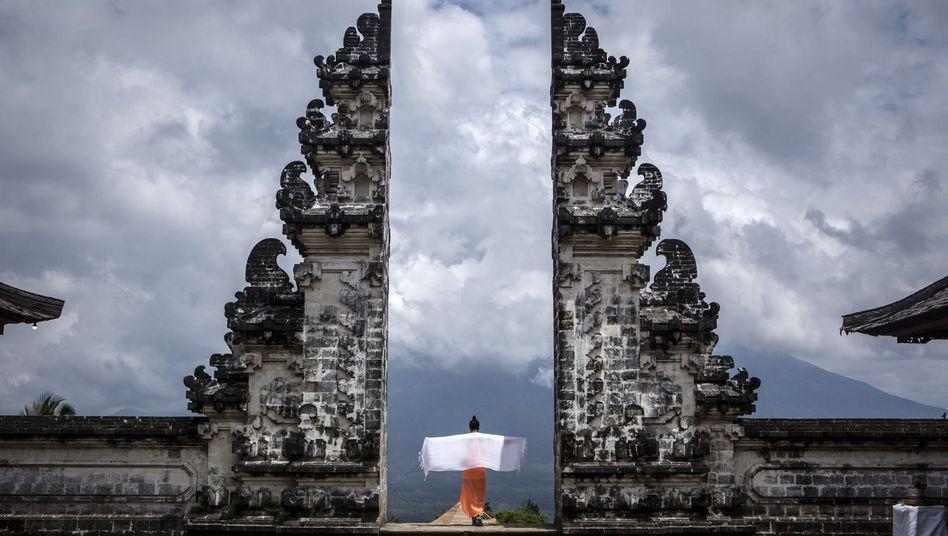 Der Pura Lempuyang Luhur Tempel auf Bali