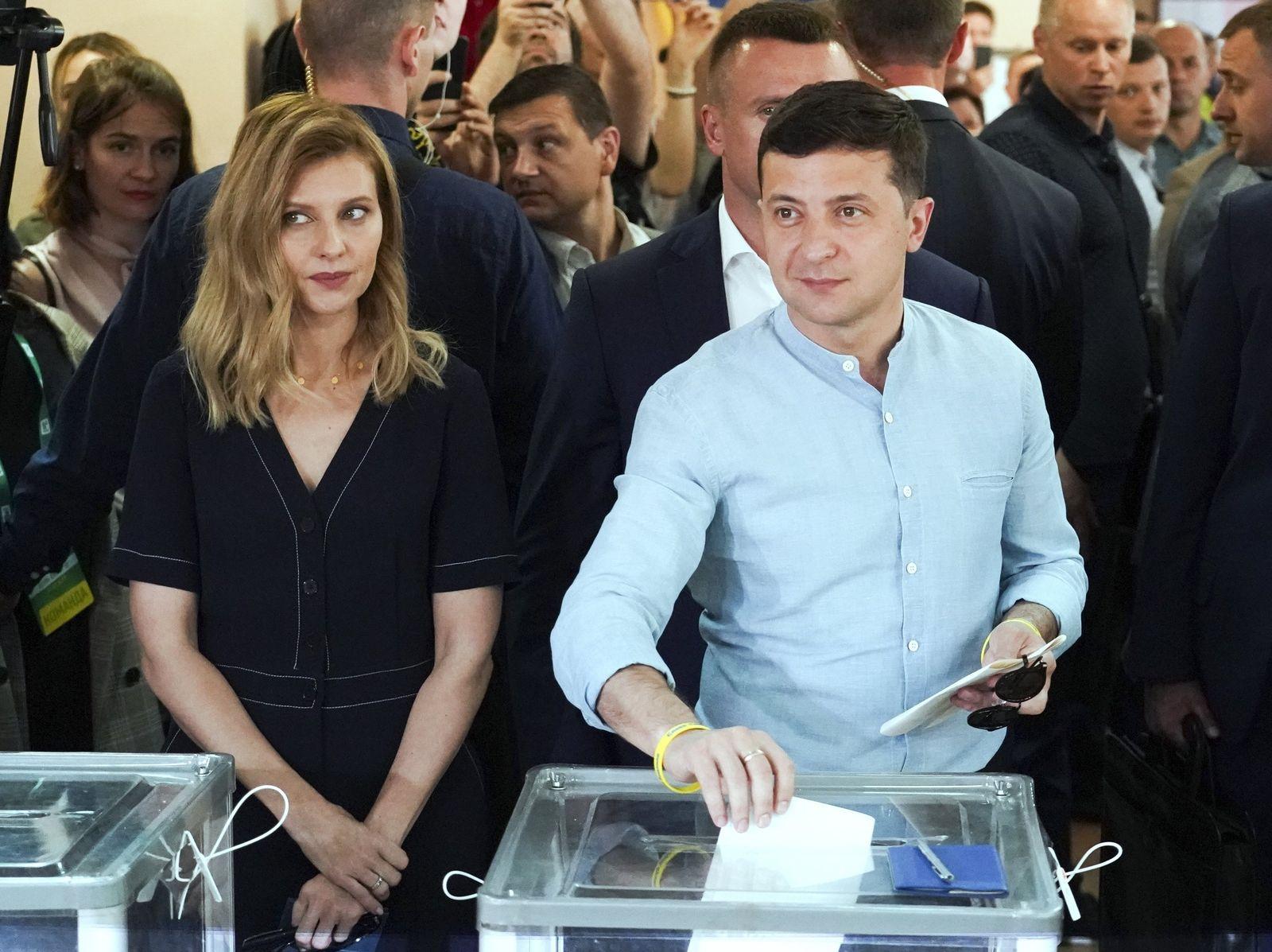 Parlamentswahl in der Ukraine