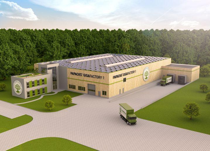Die neue Papacks-Produktion in Arnstadt, Thüringen
