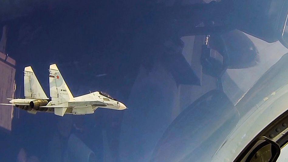 Bereits im Februar drangen russische Maschinen unerlaubt in den estnischen Luftraum ein