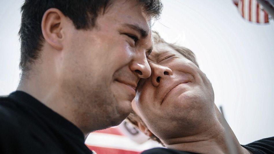 Homosexuelle nach dem Urteil in Washington: »Sieg für die Demokratie«