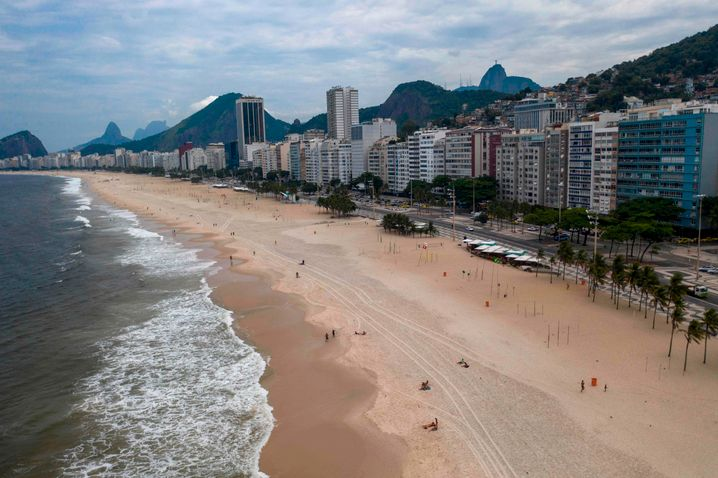 Strand von Rio de Janeiro (Archivbild)