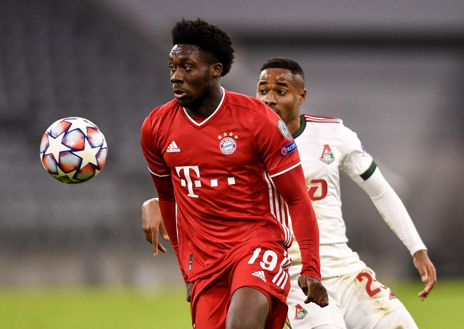 Bayern Munich vs Lokomotiv Moscow, Germany - 09 Dec 2020