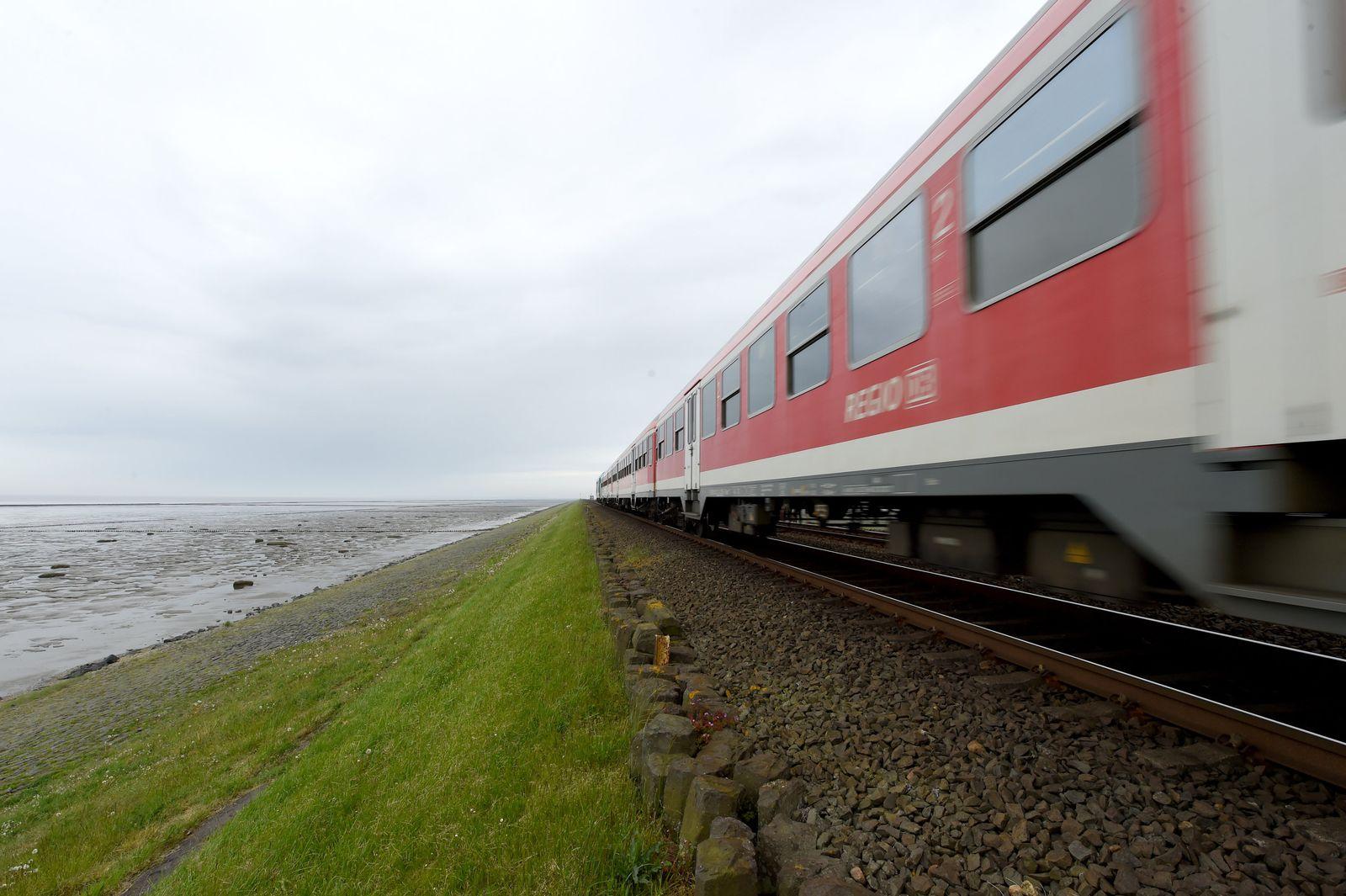 Bahnstrecke/ Hamburg-Westerland