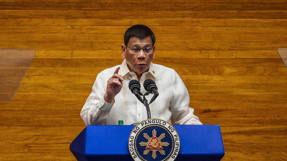 Philippinischer Präsident Duterte: »Genug ist genug!«