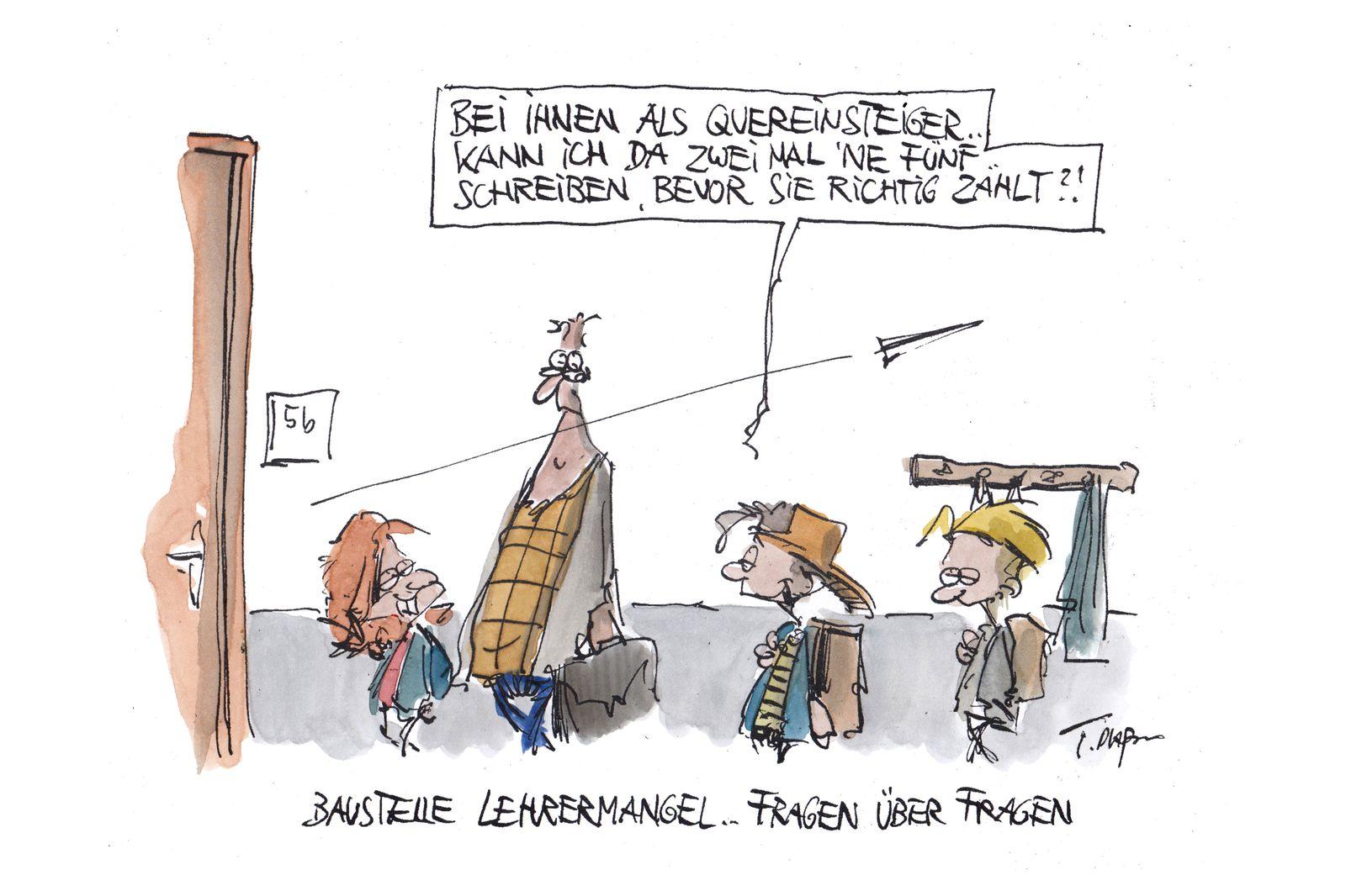 EINMALIGE VERWENDUNG Cartoons/ 05.01.20