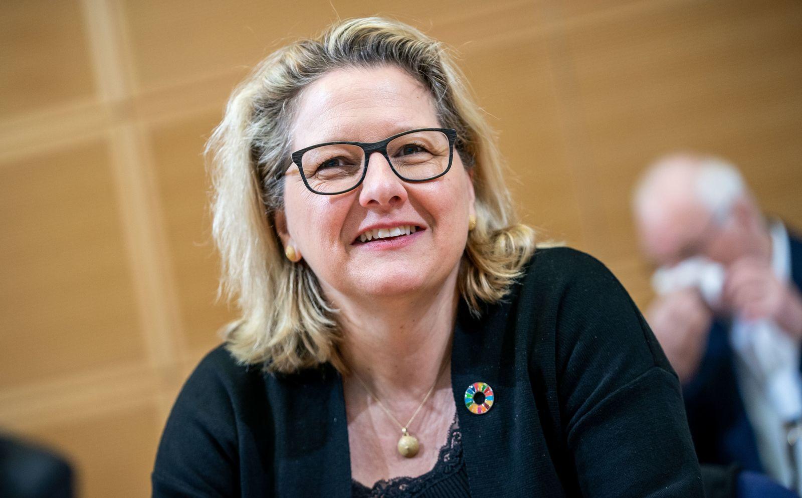 Umweltministerin Schulze