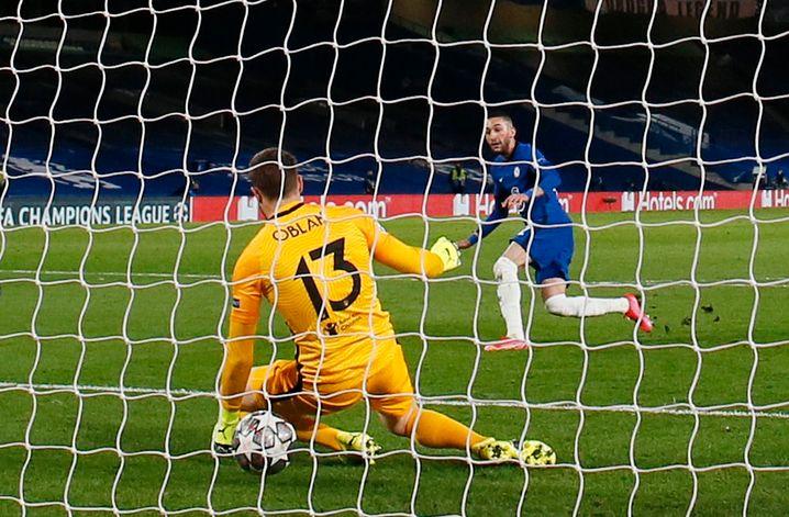 Das 1:0 für den FC Chelsea