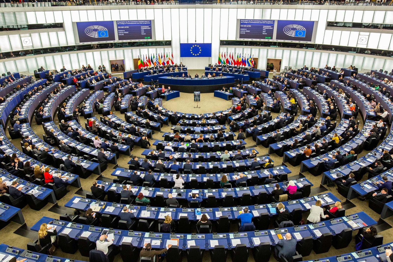Sitzung Europäisches Parlament