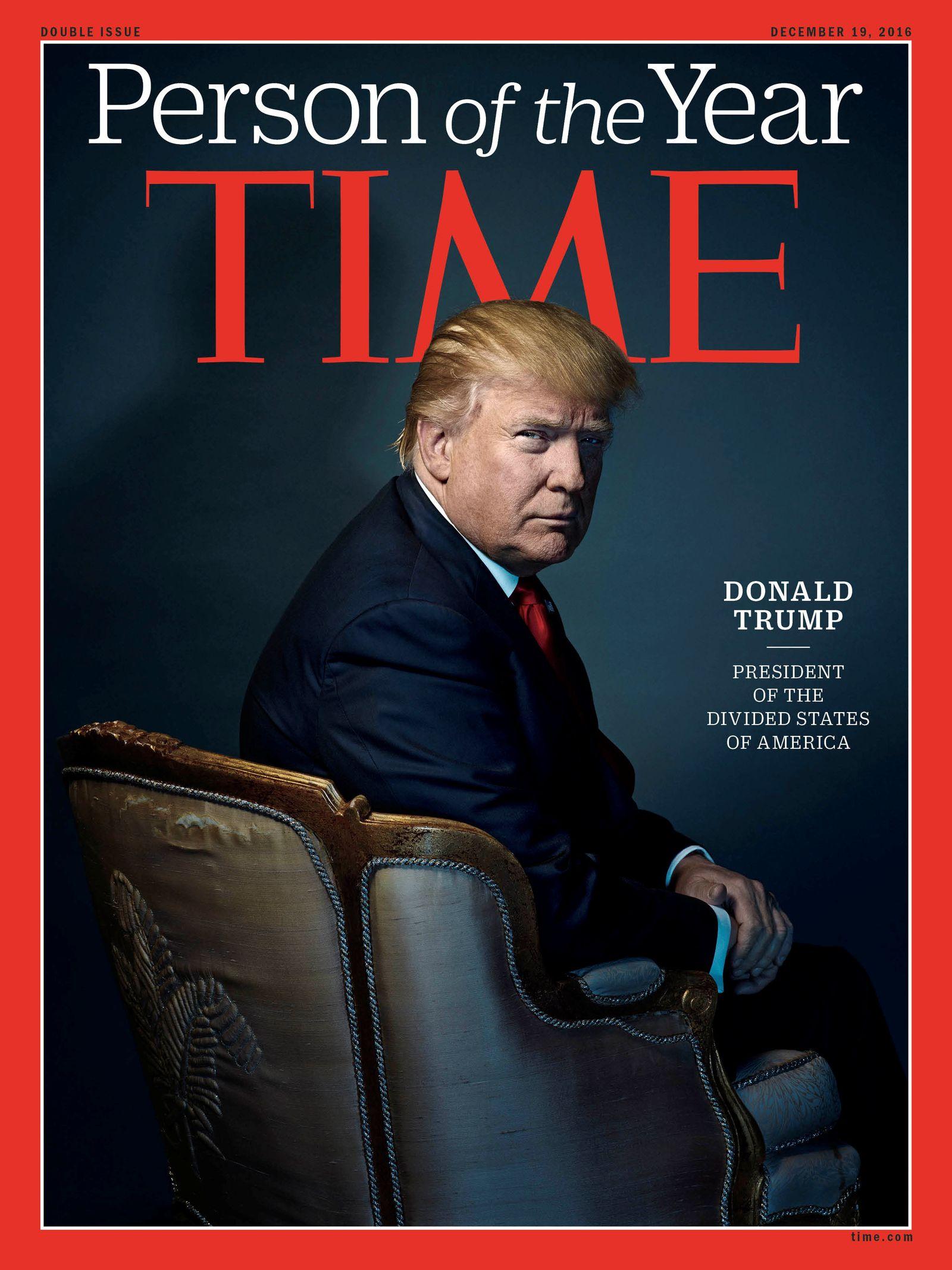 TIME/ 100Tage / Donald Trump