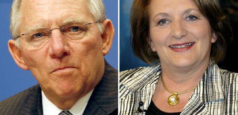 Wolfgang Schäuble, Sabine Leutheusser-Schnarrenberger: Uneinigkeit bei Bundeswehr-Einsatz im Inneren