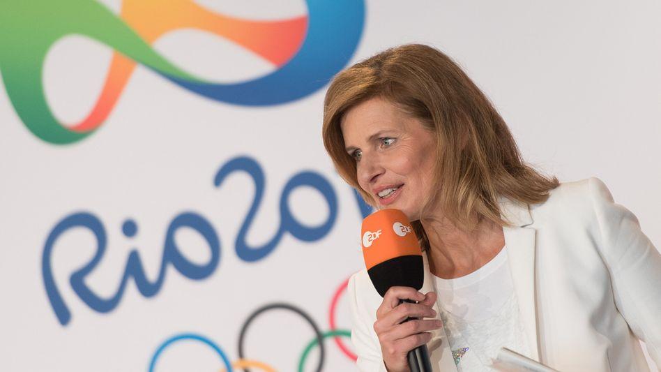 Kathrin Müller-Hohenstein, Moderatorin des ZDF