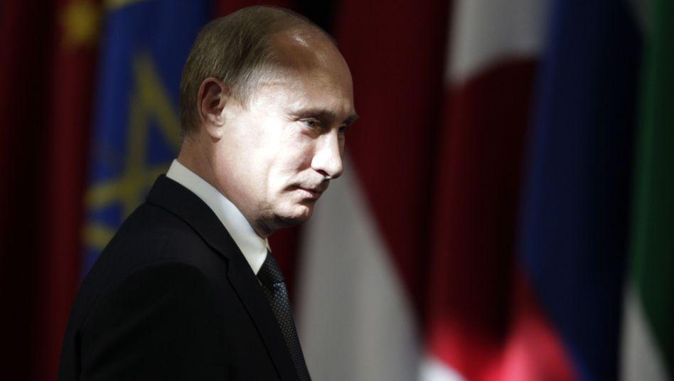 Russlands Präsident Putin: Mehr Kontrolle über NGO-Mitarbeiter