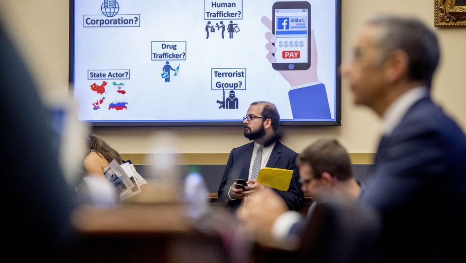 Anhörung zu Facebooks Libra-Plänen im US-Kongress