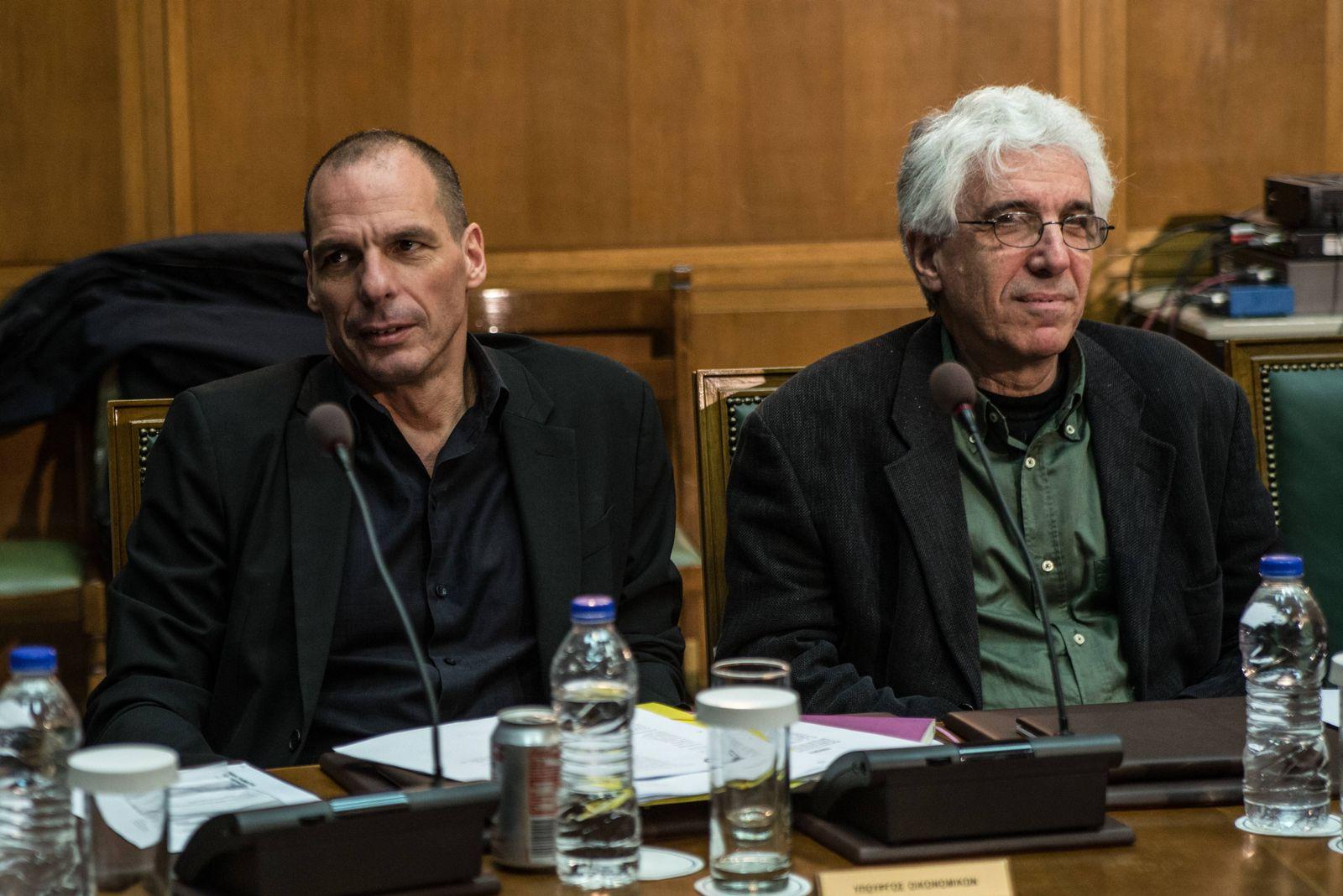 EINMALIGE VERWENDUNG Varoufakis/ Paraskevopoulos