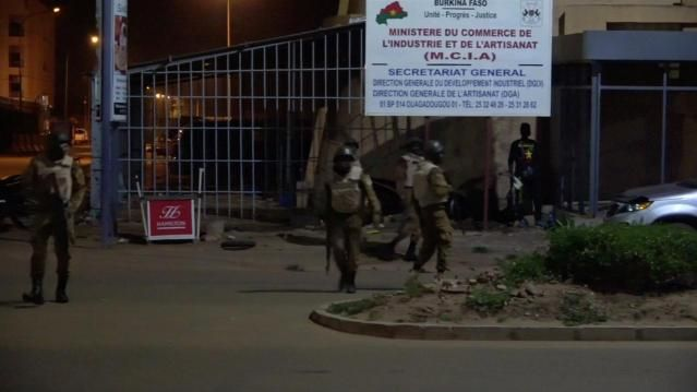 Polizeieinsatz in Ouagadougou