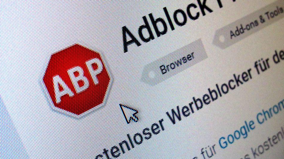 """Download der Software """"AdBlock Plus"""""""