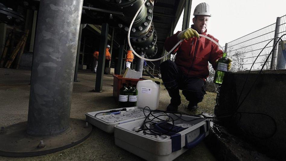 Kontrolle von Grubenwasser in Essen