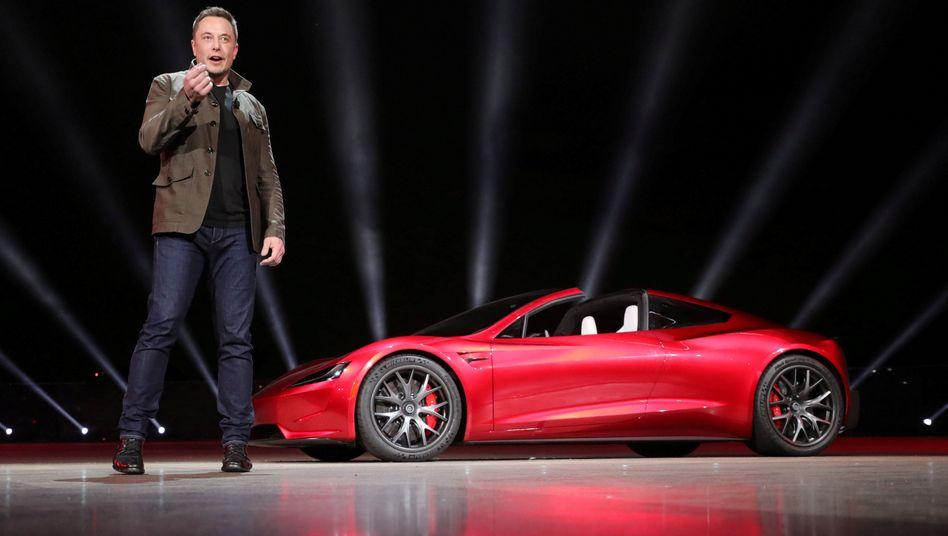 Tesla-Chef Elon Musk hofft auf Subventionen