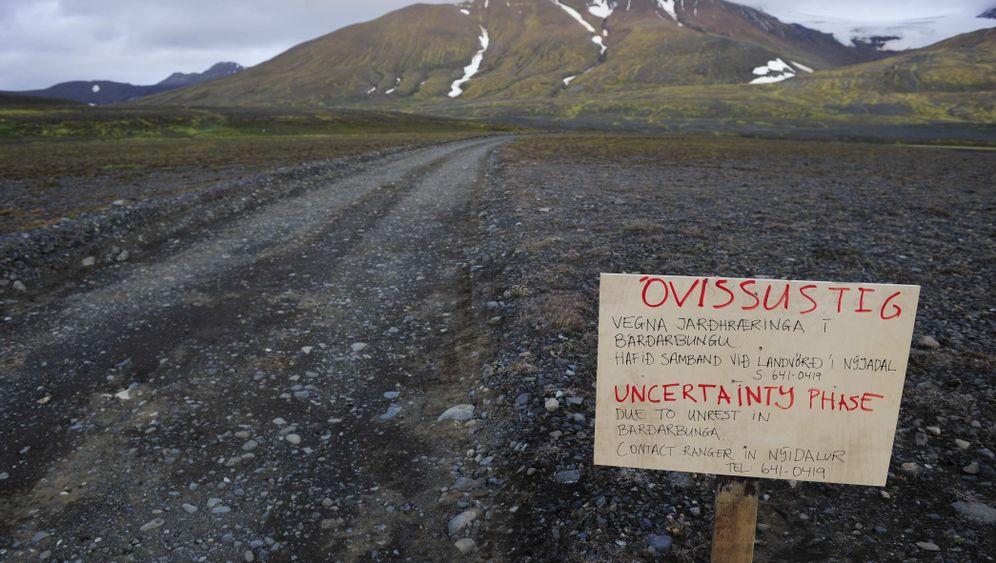 Island: Vulkan Bárdarbunga brodelt