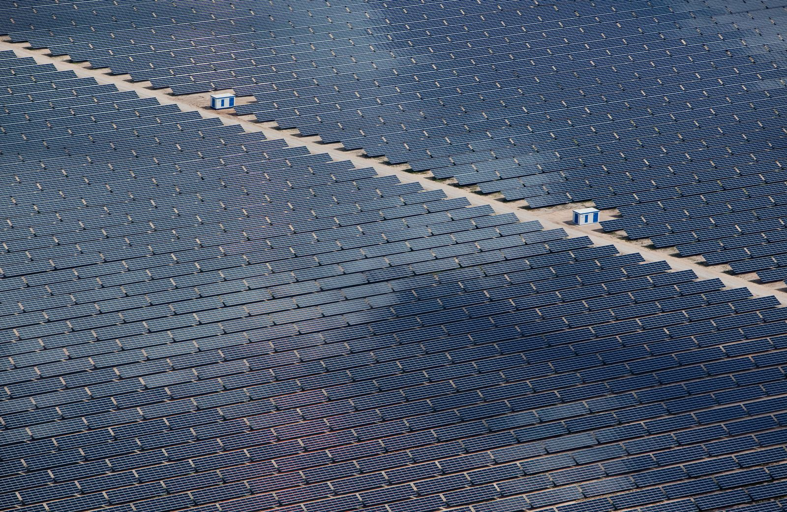 Solar-Park / Solarzellen / First Solar