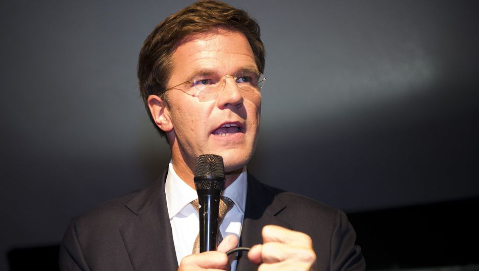 VVD leader Mark Rutte.
