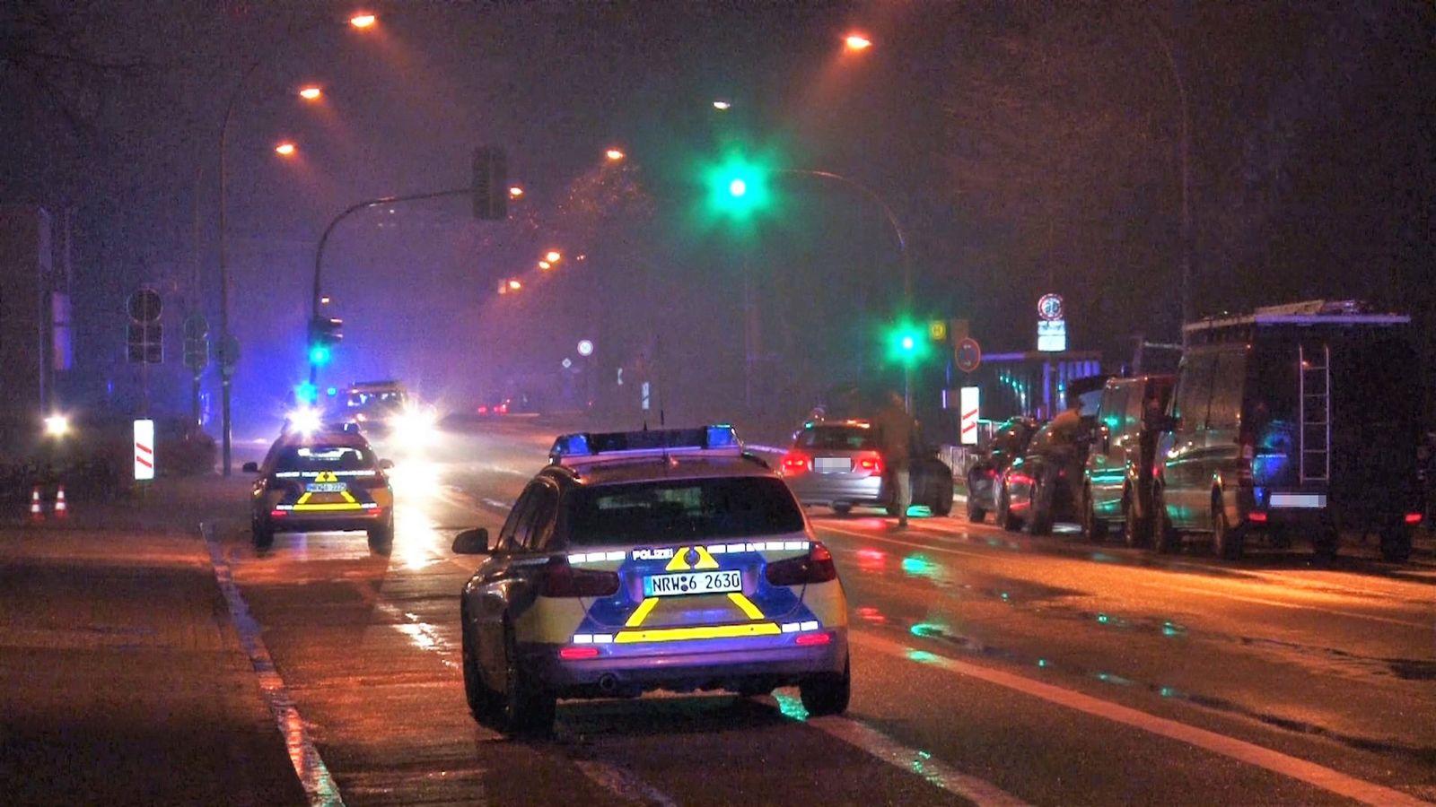 Polizeieinsatz in Lengerich