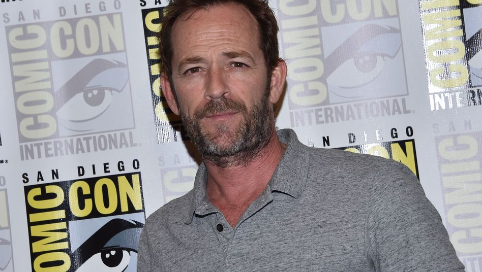 Luke Perry im Juli 2018