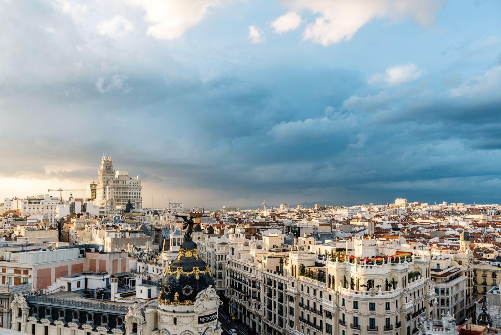 EINMALIGE VERWENDUNG Madrid