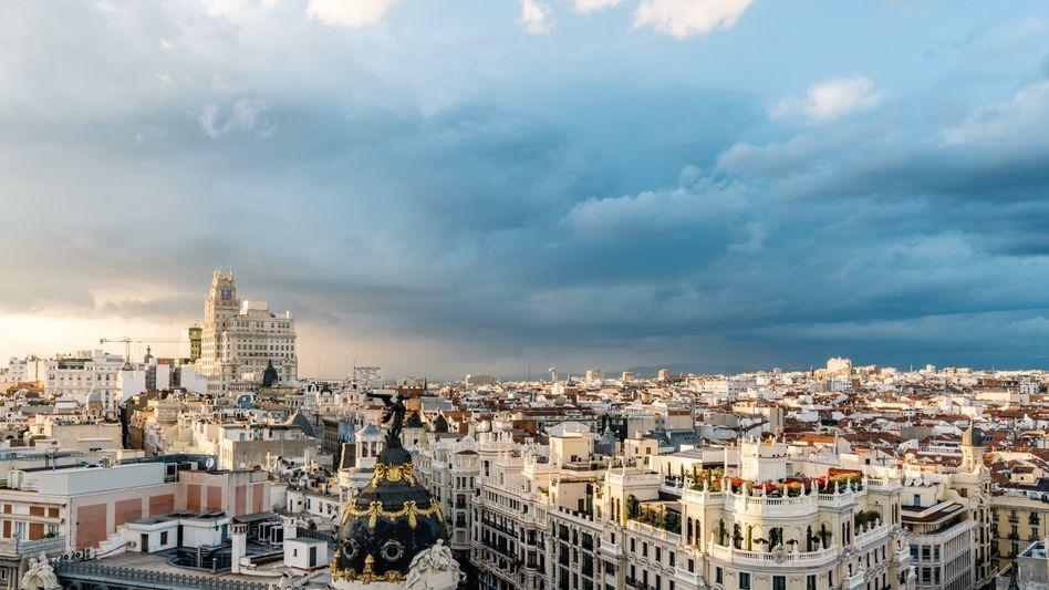 Spaniens Hauptstadt Madrid bleiben nur wenige Wochen zur Vorbereitung
