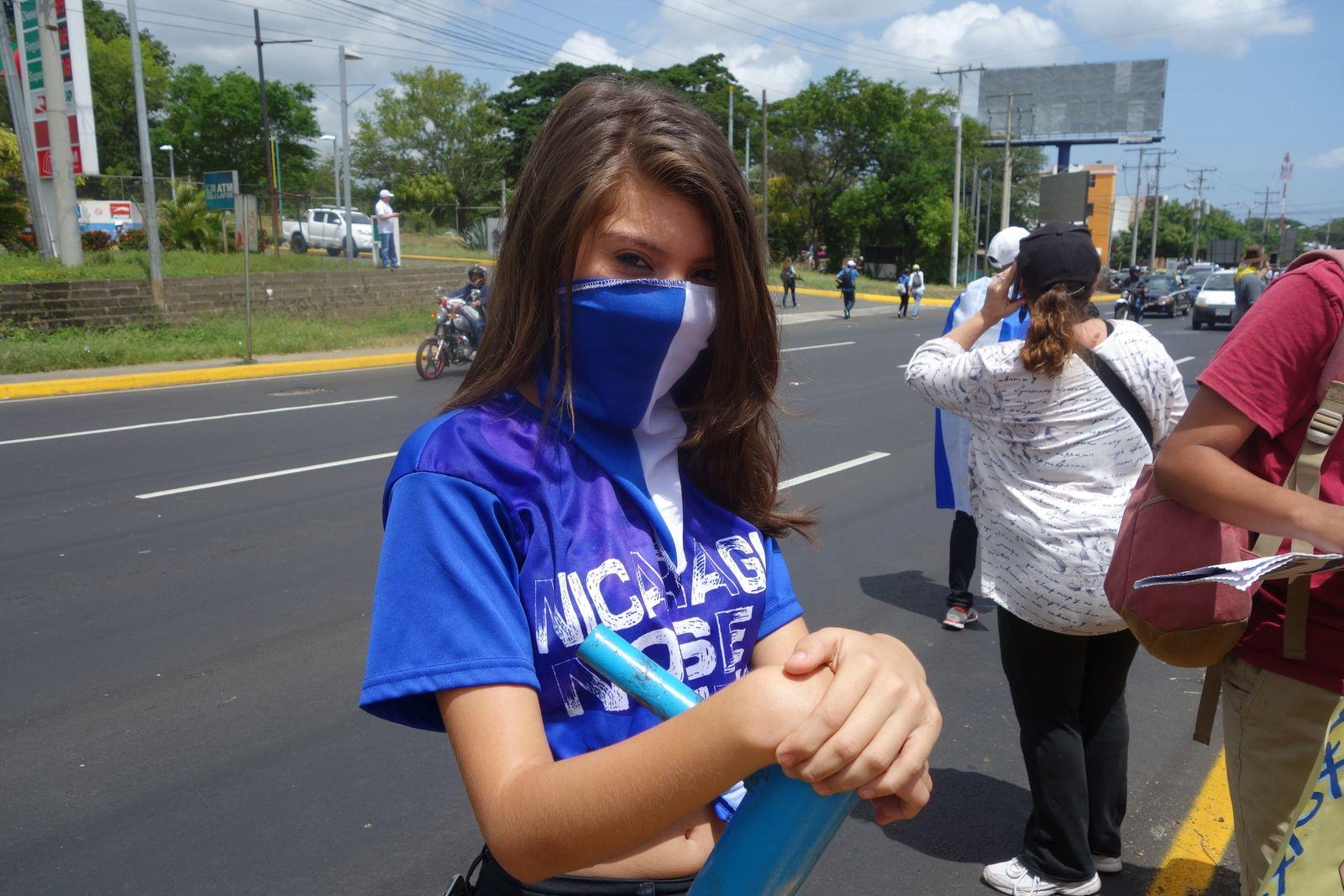 EINMALIGE VERWENDUNG Nicaragua