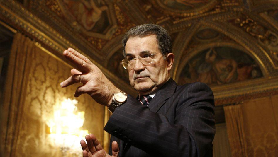 Italiens Ex-Premier Prodi (Archivbild von 2008): Neuer Kandidat fürs höchste Amt