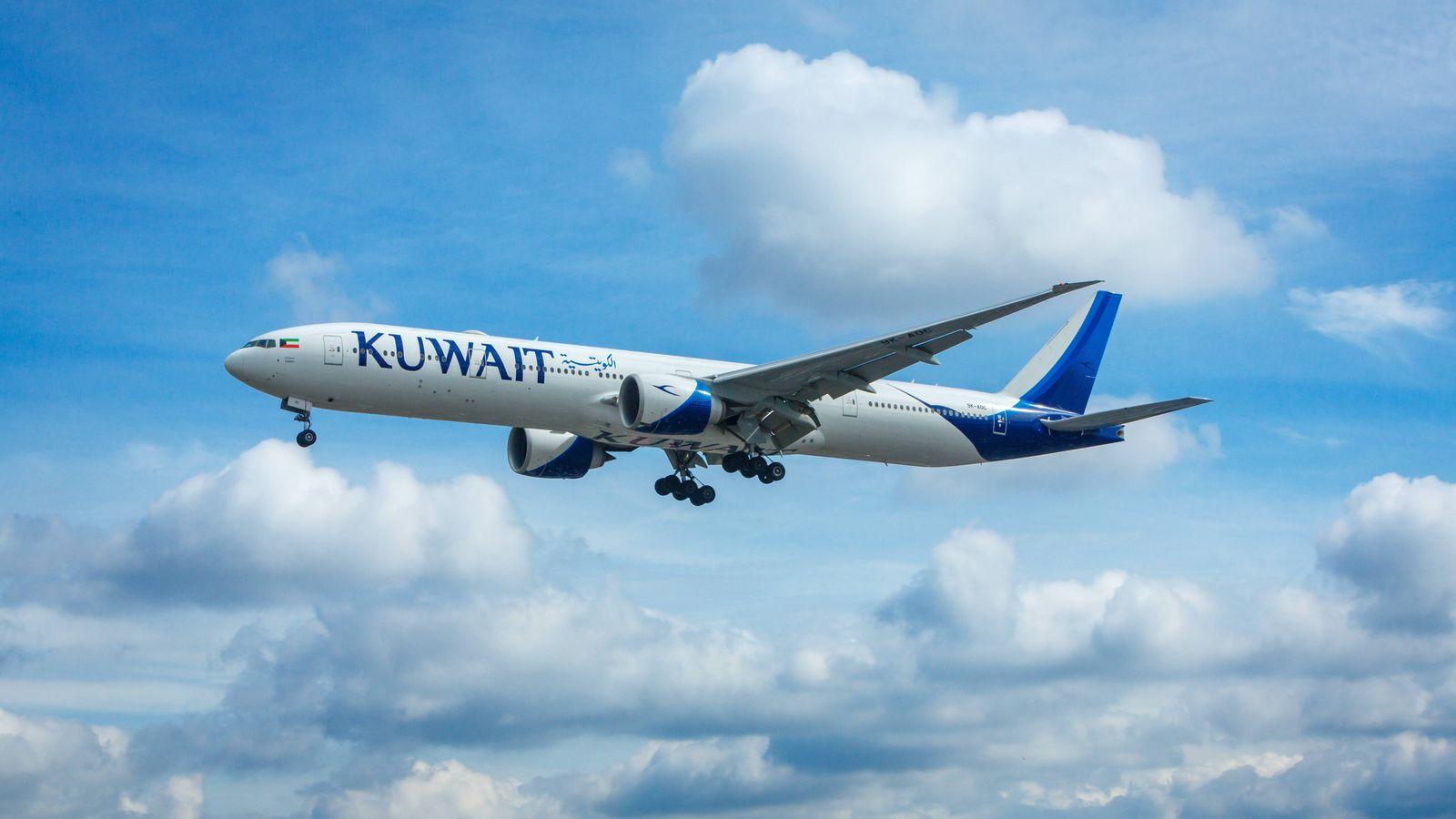 EINMALIGE VERWENDUNG Kuwait Airways