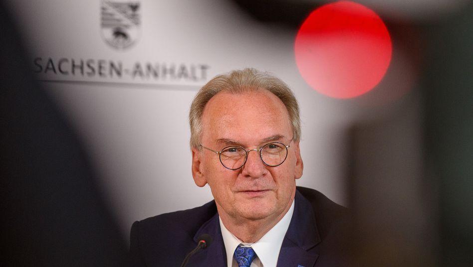 Regierungschef Haseloff: Oft anderer Ansicht