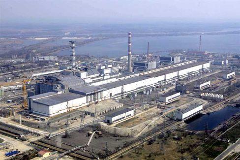 Kernkraftwerk in Tschernobyl: Leere und Verfall in der Sperrzone