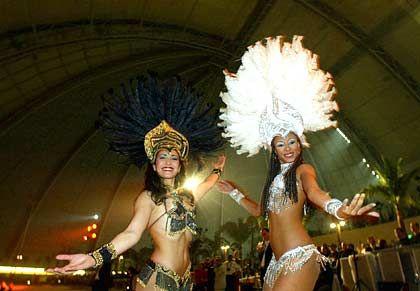"""""""Viva Brasil"""": Tänzerinnnen fürs allabendliche Musical"""