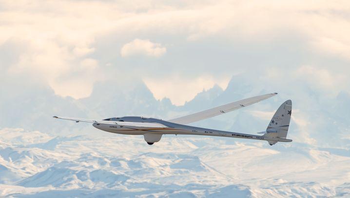 """Segelflugzeug """"Perlan II"""": Ohne Motor über den Anden"""