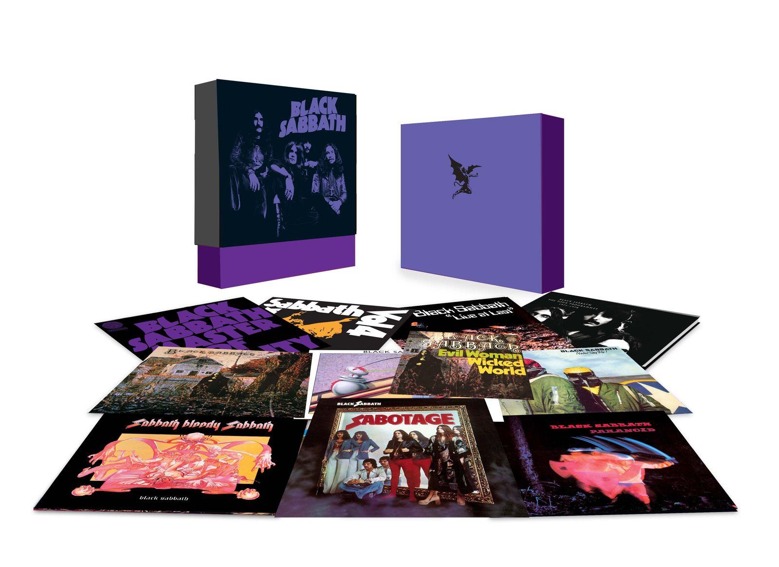 EINMALIGE VERWENDUNG Metal Geschenke/ Black Sabbath