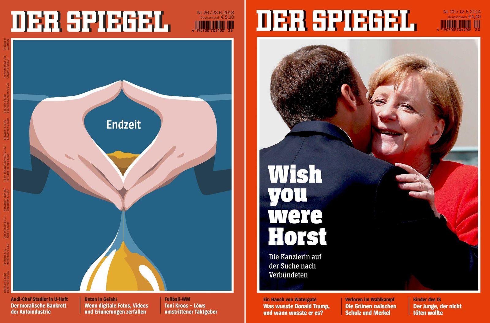 EINMALIGE VERWENDUNG NUR FÜR LAGE SPIEGEL 26/2018 Cover / Alternative